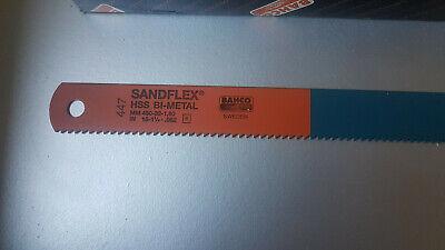 2 Stück Bahco MASCHINENSÄGEBLATT 3809-450-32-1.60-6 Sandflex Bimetall  NEU
