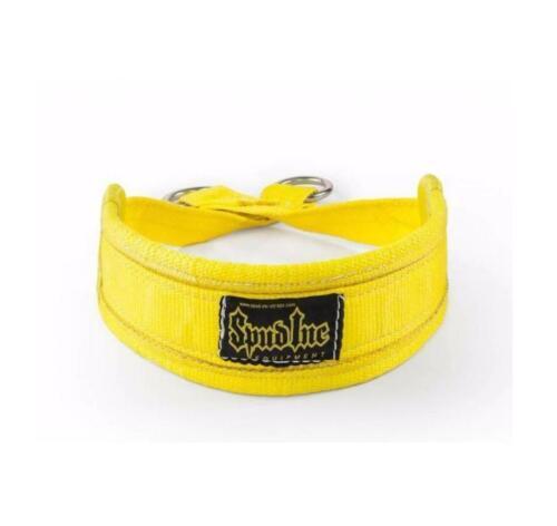 Black or Yellow, Size Regular Belt Squat Belts Inc Spud