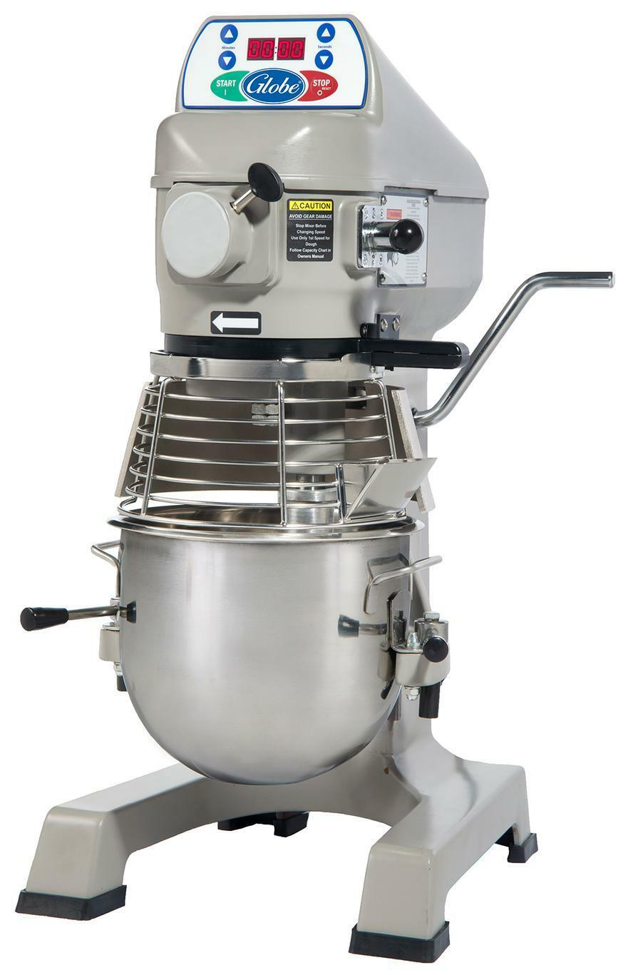 Globe SP10 10 Quart Counter-Top Planetary Mixer 3 Speed with Hub
