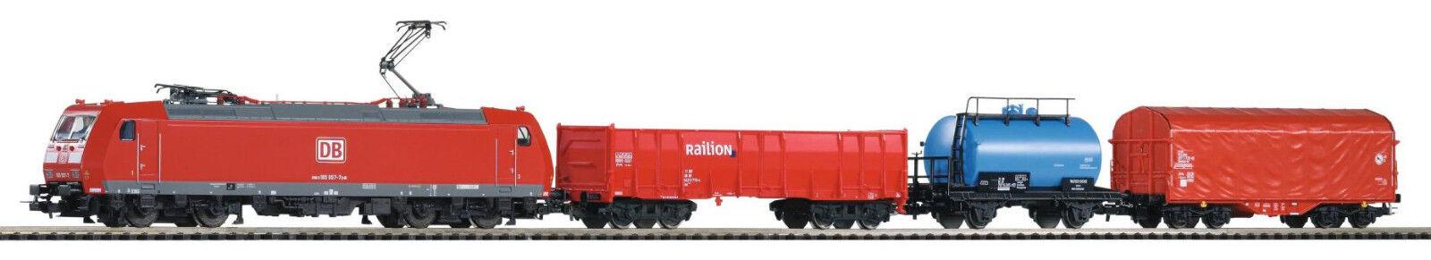 Piko 59004 Startset Digital Br 185 Freight Train Db Ag Epoche Vi New Original