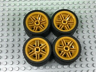 Lego wheel 56145c03 black x4