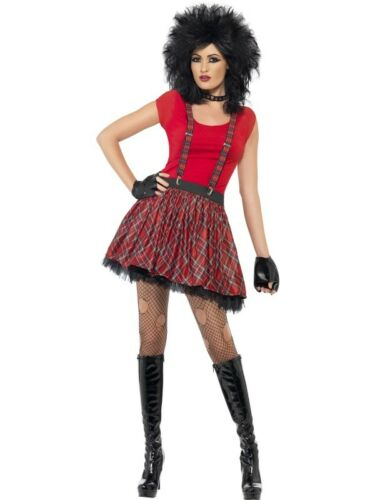 Punk KIT Adulto Donna Smiffys Costume Accessorio