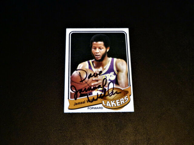 88f3e576d34 Jamaal Wilkes 1979 Topps #35 Autograph HOF Lakers 1979-80 Signed Vintage  Auto