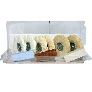 polierset 10 tlg polierscheiben polierpasten f. Black Bedroom Furniture Sets. Home Design Ideas