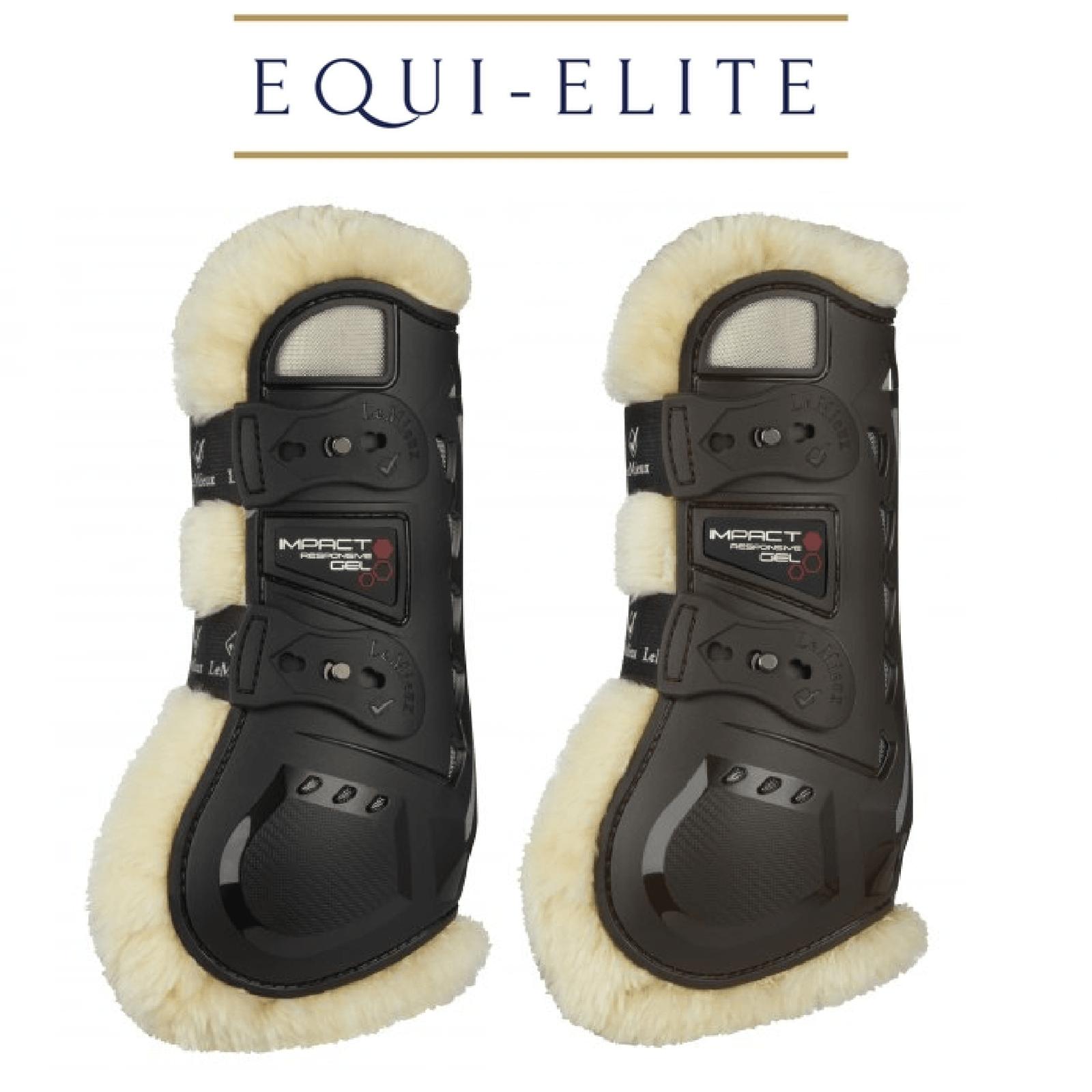 Lemieux Comfort impatto reattivo GEL Tendini Stivali Salto Ostacoli