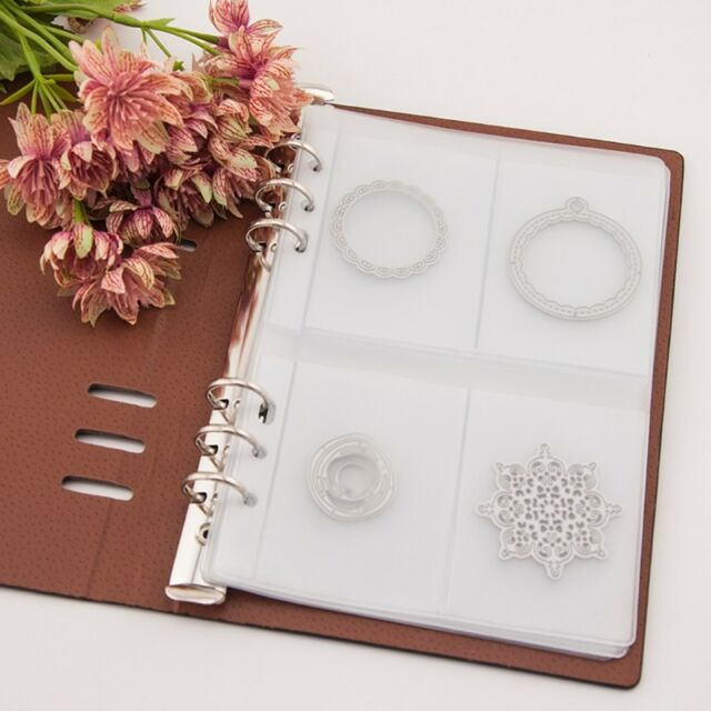 inner page album scrapbooking stencil book cutting dies holder storage