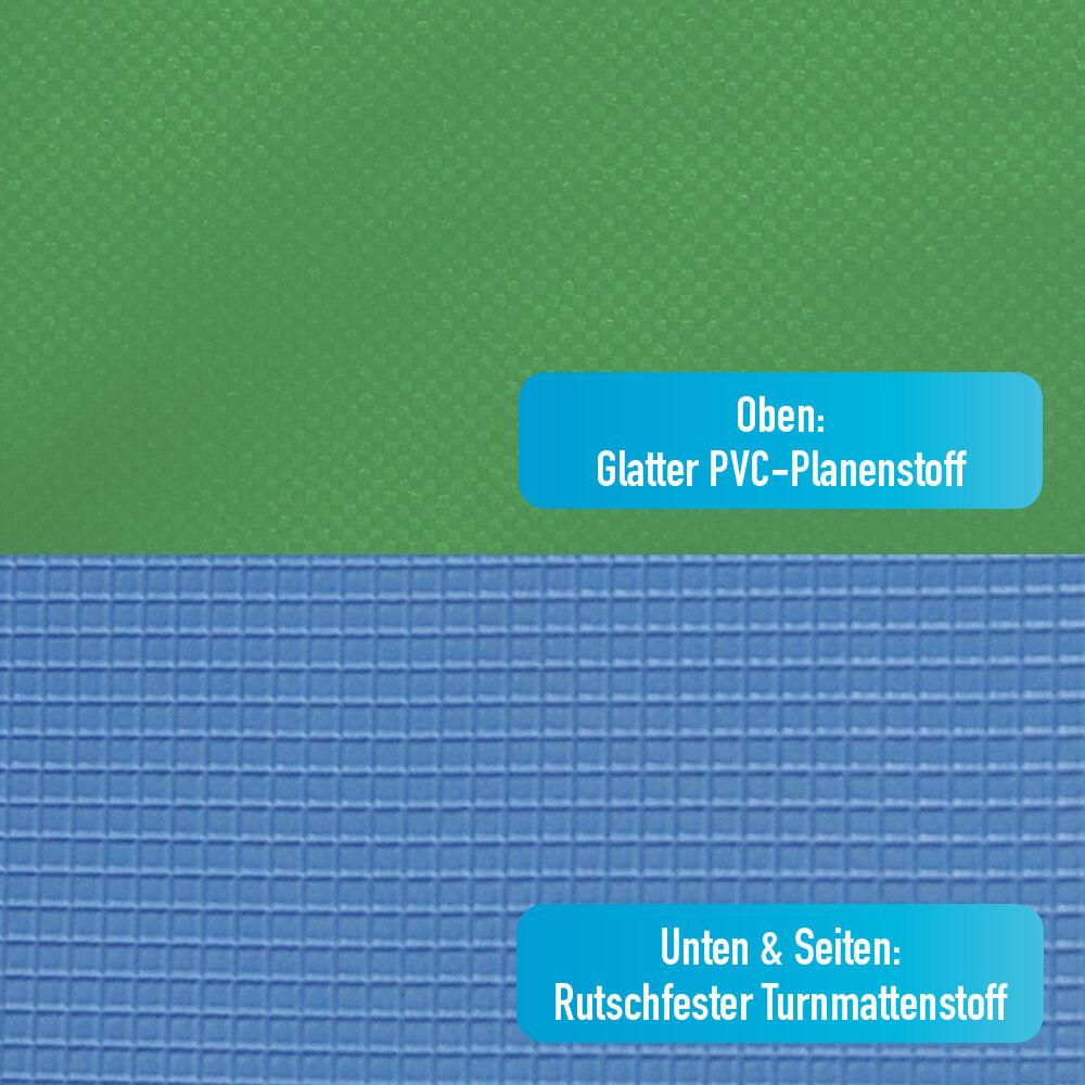 Grevinga® RESTPOSTEN cm klappbare Turnmatte ca. 200 x 100 x 8 cm RESTPOSTEN in grün - RG 35 491957