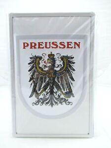 Blechschild-Preussen-Preussen-Metall-Schild-30cm-Nostalgie-Metal-Shield