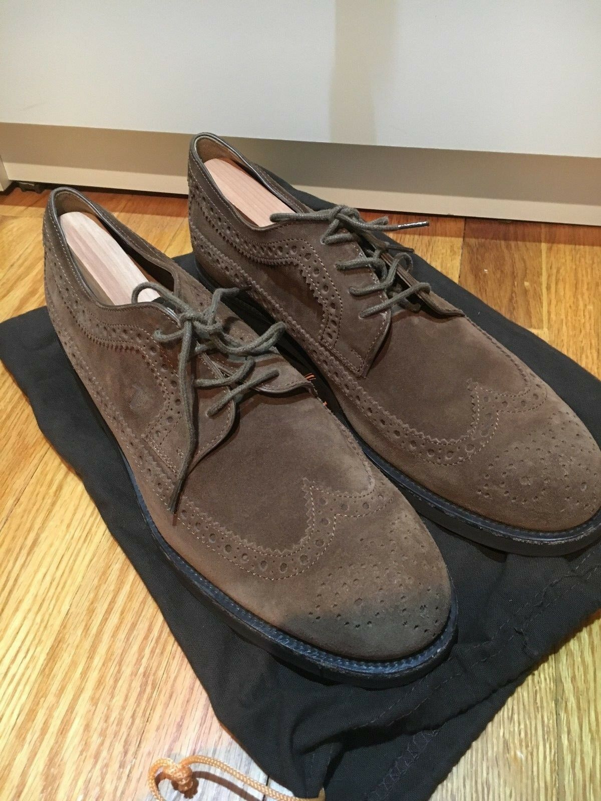 outlet Tod's Tod's Tod's Marrone suede bucks in MSRP  495  moda