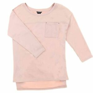 NEW-Calvin-Klein-Womens-3-4-Sleeve-Sweater-Shirt-With-Pocket-VARIETY-SZ-CA14