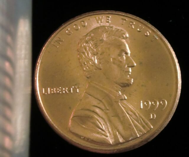 1999-D Denver Mint Lincoln Memorial Penny