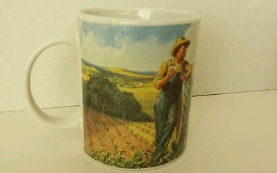 Coffee Mug Tractor John Deer Cup  Implements Agriculture Farmer Gibson licensed