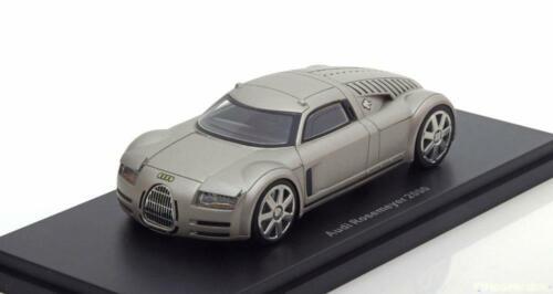1:43 BoS Audi Rosemeyer 2000 aluminium