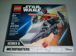 LEGO 75224 Star Wars Sith Infiltrator Microfighter Series 6 NEW Sealed