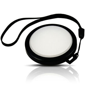 Mennon 52mm White Balance Lens Cap WB Filter Mount for Canon Nikon Cameras