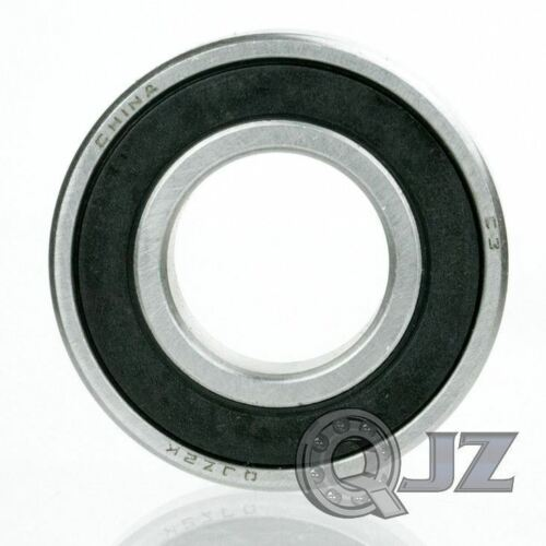 8x 6015-2RS Ball Bearing 75mm x 115mm x 20mm Rubber Seal Premium RS 2RS NEW