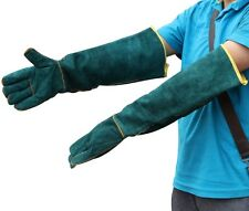 Split Leather Welding Gloves Cuff Welder Safety Protective Tool