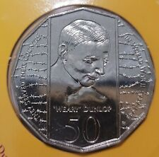 *1995 50 cent proof coin from set Weary Dunlop commemorative. Only 48,537 made