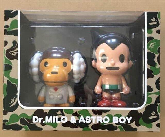 A BATHING APE MEDICOM BAPE DR MILO ASTRO BOY Figure Rare From japan F S