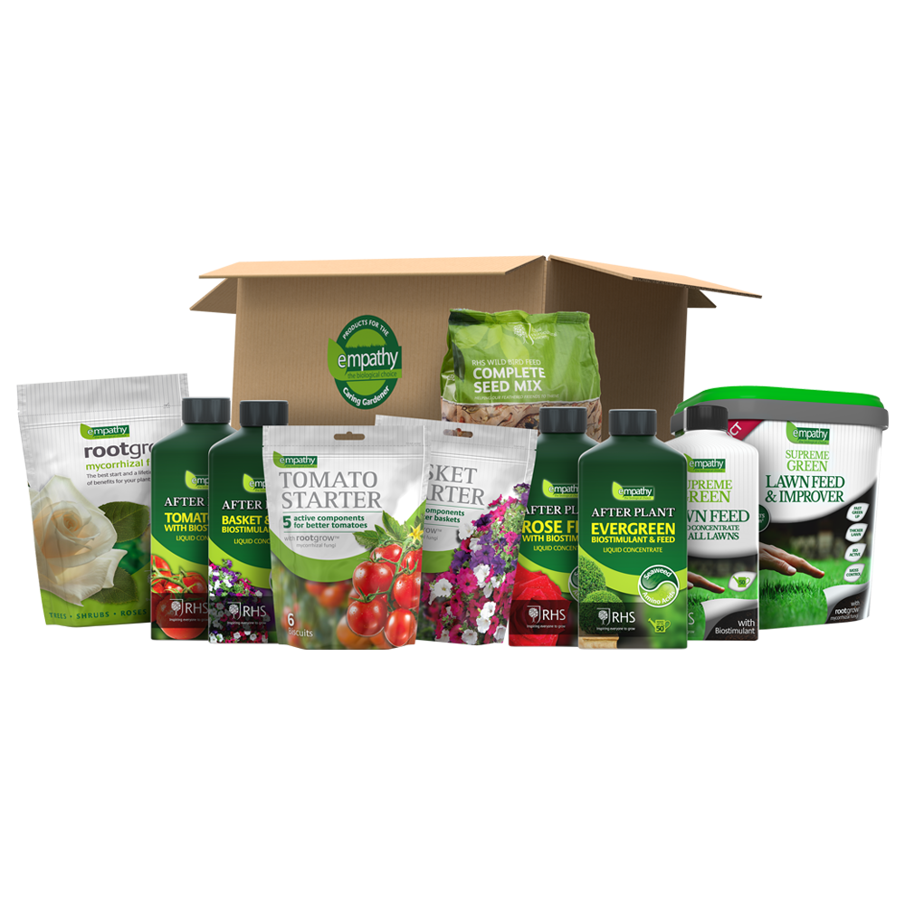 Complete Garden Bioactive Plant Feed Pack with rootgrow Mycorrhizal Fungi