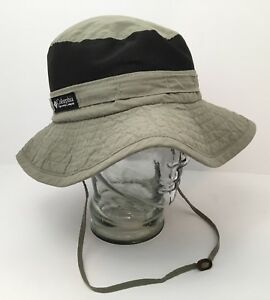 6643ae15 Vintage Columbia Sun Hat USA Packable Vented Paddling Hiking Outdoor ...