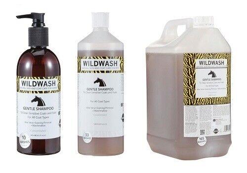 WildWash Horse Shampoo Gentle - Sooth, Relieve & Repair