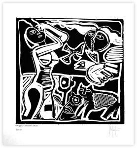 Corneille-Grafica-d-039-autore-omaggio-dell-039-artista-Stefano-Fiore-firmata-a-mano
