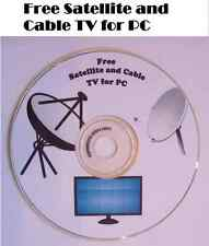 Free TV 10,000 satellite channels Cable television stations for PC on CD DVD