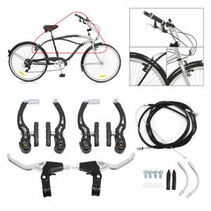 Cycling V-Brake Caliper Set Mountain MTB Road Bike Bicycle Front+Rear Brake Kit