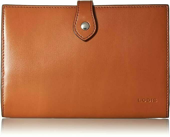 Lodis Audrey Chrissy Convertible Wallet Crossbody Toffee Leather NWT MSRP