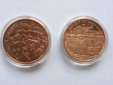 10-Euro-Gedenkmünze aus Bundesländer-Serie Österreich 2014 Salzburg In Kapsel