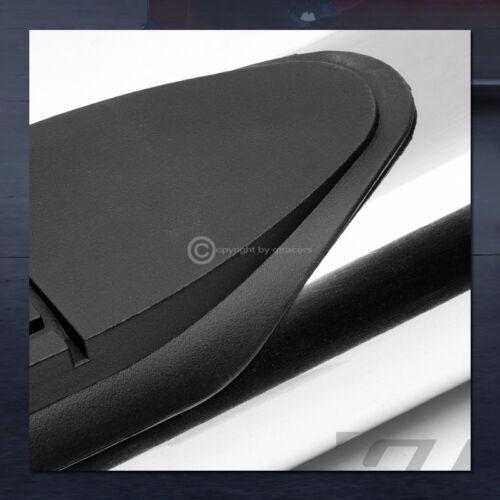 "For 1999-2018 Silverado//Sierra Ext 4/"" Chrome Side Step Nerf Bars Running Boards"