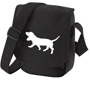 Basset-Hound-Gift-Pack-Shoulder-Bag-amp-Wallet-dog-Birthday-Gift-Dog-Walkers-Bag