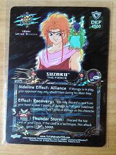 Yu Yu Hakusho TCG CCG S18 Suzaku, the Fierce Spirit RARE Card