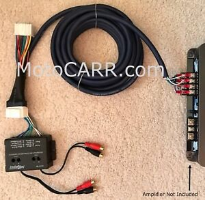 Honda-Acura-Factory-Radio-Add-A-4-Channel-Amplifier-Plug-amp-Play-Wire-Harness