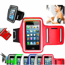Armband für Apple Iphone 4 5 Schwarz Sport Tasche Joggen Jogging Case