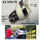 REversing Beeper Warning Bulb to fit car van 4x4 jeep camper van truck etc 12V