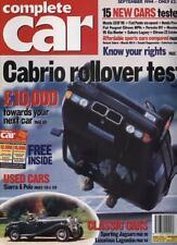 COMPLETE CAR MAGAZINE - September 1994 'MAZDA 323F V6 TEST'