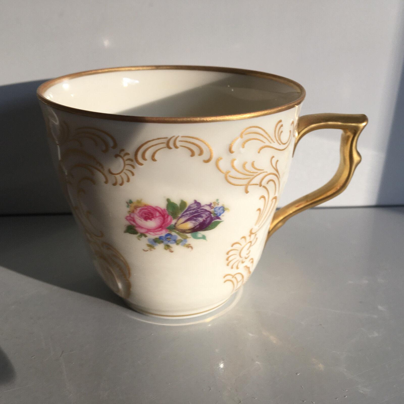 rosanthal SANSSOUCI Diplomat tazza di caffè 0,18l 1. scelta inutilizzato Cup