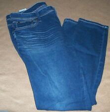 $40 GUESS BLUE MAXINE LEGGING SIZE XL SOFT TEXT STRETCH PRO CLEANED LITTLE WEAR