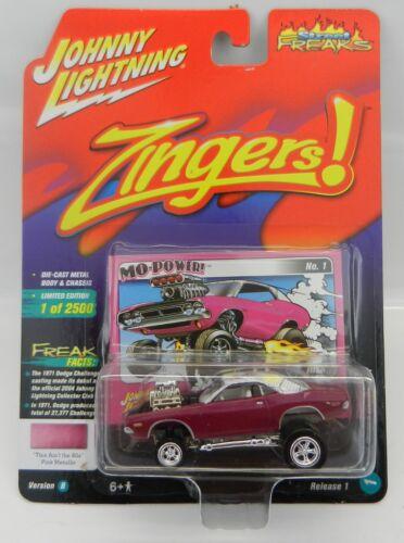 2018 Johnny Lightning Street freaks 1B* Rose 1971 Dodge Challenger surprise!