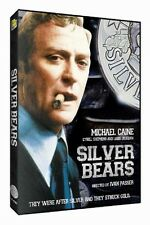 Silver Bears (DVD, 2014)-michael caine-jay leno-cybill shepherd-tom smothers