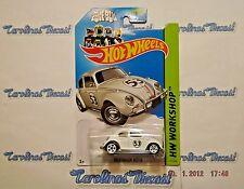 Hot Wheels Herbie The Love Bug Volkswagen Beetle 2014 HW Workshop TT1