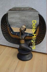 Isis egiziano personaggio tutenchamun SPECCHIO scultura Faraone Egitto 2857 fa110