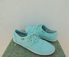 NWT Sanuk MOCHI Womens Lace-Up Sidewalk Surfer Shoes Sandals Mint Sz 7