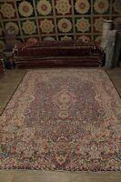 Semi Antique Persian Afshar Tree Of Life Rug Carpet