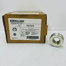 New Listingbox Of 5 Hubbell Killark Re52s 1 12x34 Steel Reducer Hazloc New Surplus