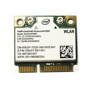 Intel Centrino Advanced-N 6205 Wi-Fi Adapter Drivers Windows XP