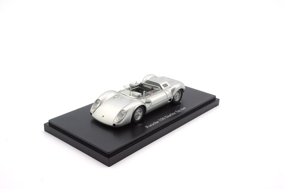 bilkult Porsche 550 Durlit Spider - silver - 1 43