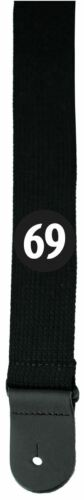 Perri/'s Leathers Woven 2 Inch Wide 69 Patch Cotton Guitar Strap # CWSPAT-6593